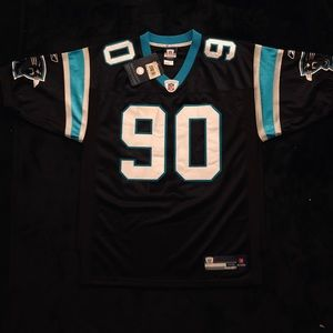 NWT! REBOOK AUTHENTIC PANTHERS PEPPER JERSEY RARE!